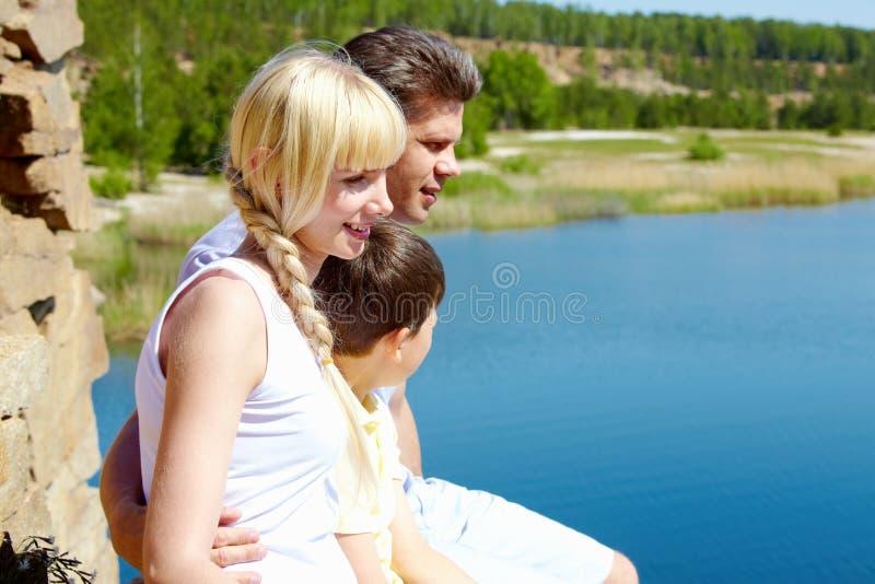 οικογενειακή στήριξη στοκ εικόνες με δικαίωμα ελεύθερης χρήσης
