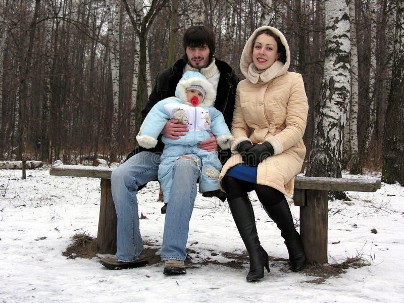 Download οικογενειακός τρία χει& στοκ εικόνα. εικόνα από εκμετάλλευση - 383215
