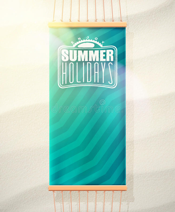 οικογενειακό καλές διακοπές καλοκαίρι σας απεικόνιση αποθεμάτων
