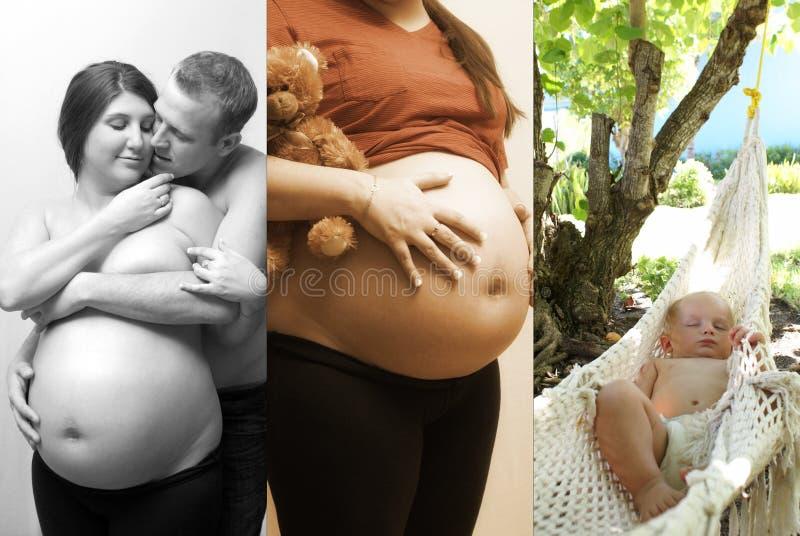 Οικογενειακό κολάζ στοκ εικόνες με δικαίωμα ελεύθερης χρήσης