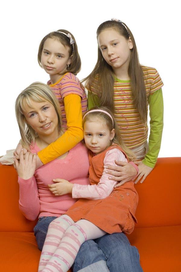 Download οικογενειακό πορτρέτο στοκ εικόνες. εικόνα από γυναίκα - 2229944