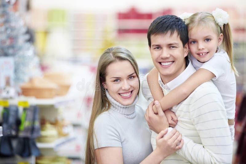 οικογενειακό χαμόγελ&omicro στοκ εικόνες