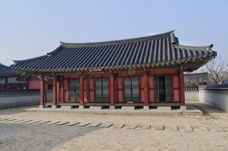 Οικοδόμηση στο παλάτι Hwaseong Haenggung στοκ φωτογραφίες με δικαίωμα ελεύθερης χρήσης