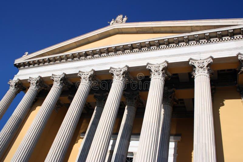 οικοδόμηση της Αθήνας ιστορική στοκ φωτογραφίες