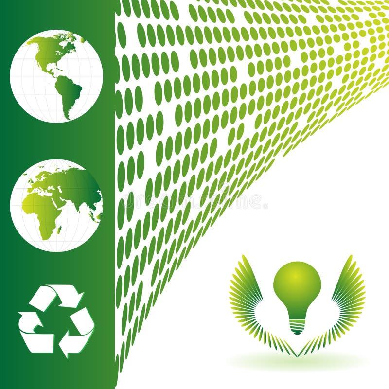 οικολογία ανασκόπησης απεικόνιση αποθεμάτων