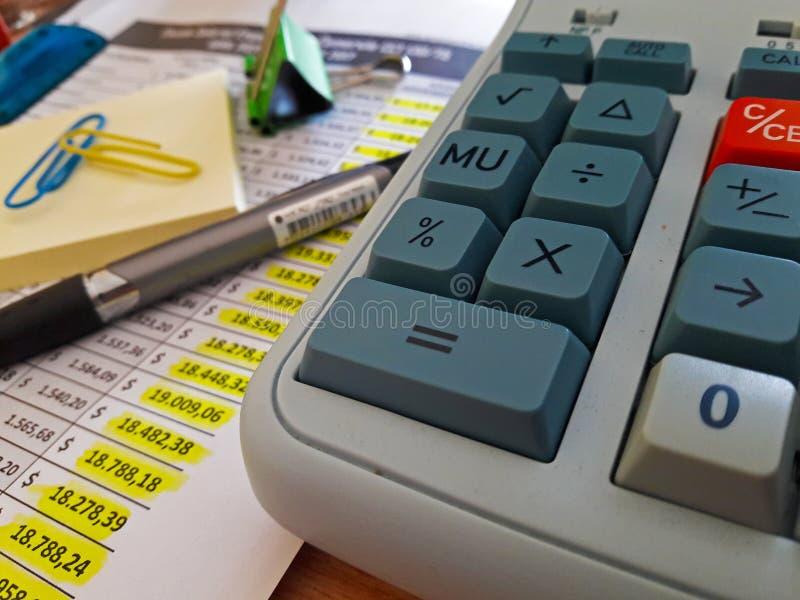 Οικονομικές εκθέσεις στοκ φωτογραφία