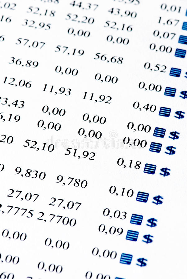 οικονομική έκθεση στοκ εικόνες με δικαίωμα ελεύθερης χρήσης