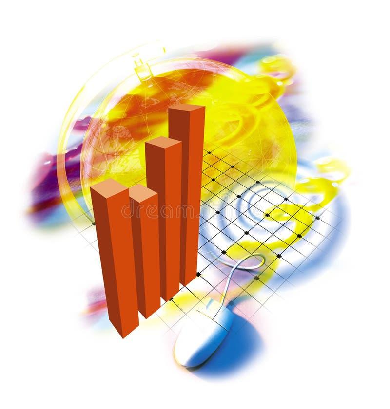 οικονομική έκθεση απεικόνιση αποθεμάτων
