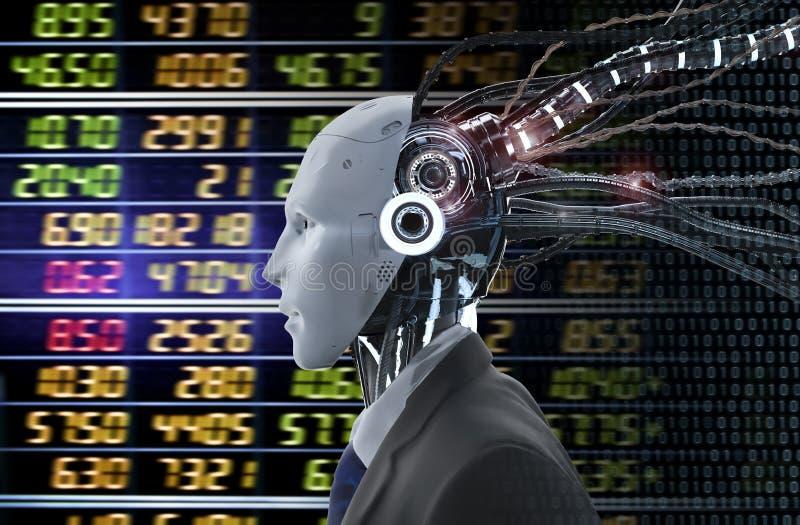 Οικονομική έννοια τεχνολογίας στοκ εικόνες