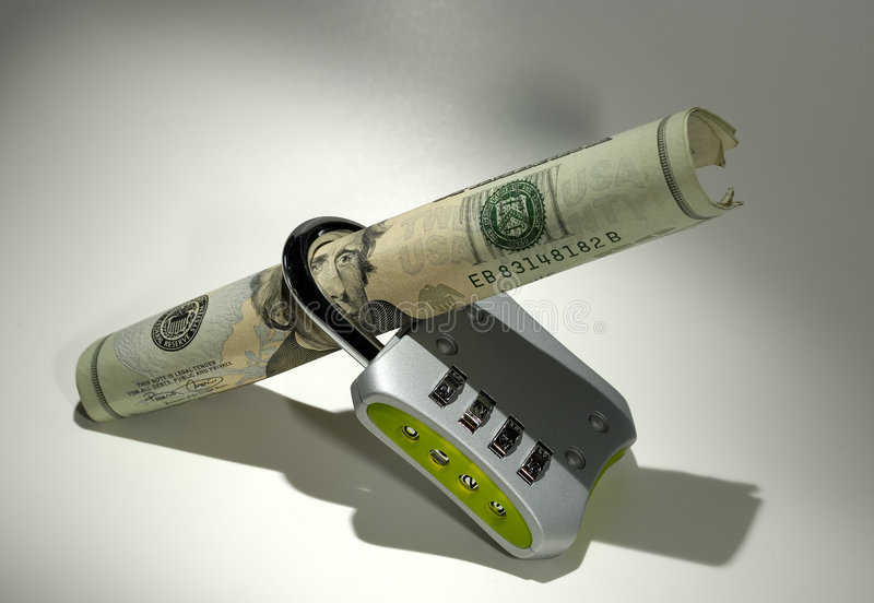 οικονομική ασφάλεια στοκ εικόνα με δικαίωμα ελεύθερης χρήσης