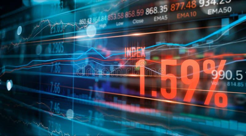 Οικονομική γραφική παράσταση εμπορικών συναλλαγών αριθμών και Forex χρηματιστηρίου, επιχείρηση και στοιχεία χρηματιστηρίου, οικον στοκ εικόνα με δικαίωμα ελεύθερης χρήσης