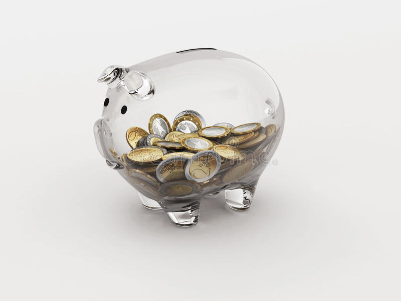 Οικονομική διαφάνεια διανυσματική απεικόνιση