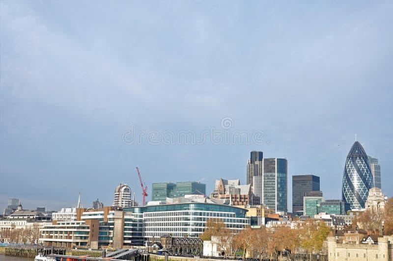 Οικονομική περιοχή του Λονδίνου, Ηνωμένο Βασίλειο στοκ φωτογραφία