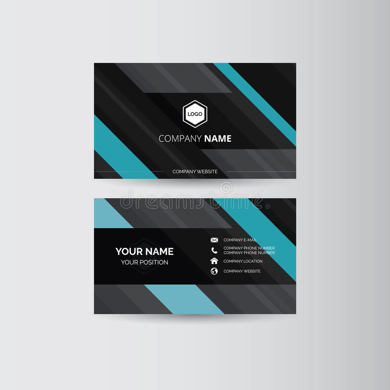 οικονομική σειρά επαγγελματικών καρτών ελεύθερη απεικόνιση δικαιώματος
