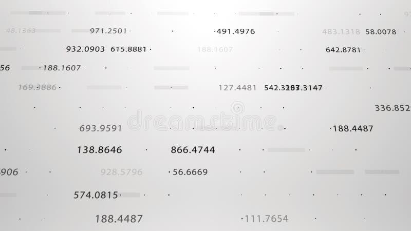 Οικονομικοί αριθμοί και διαγράμματα που παρουσιάζουν αυξανόμενα κέρδη στοκ εικόνες