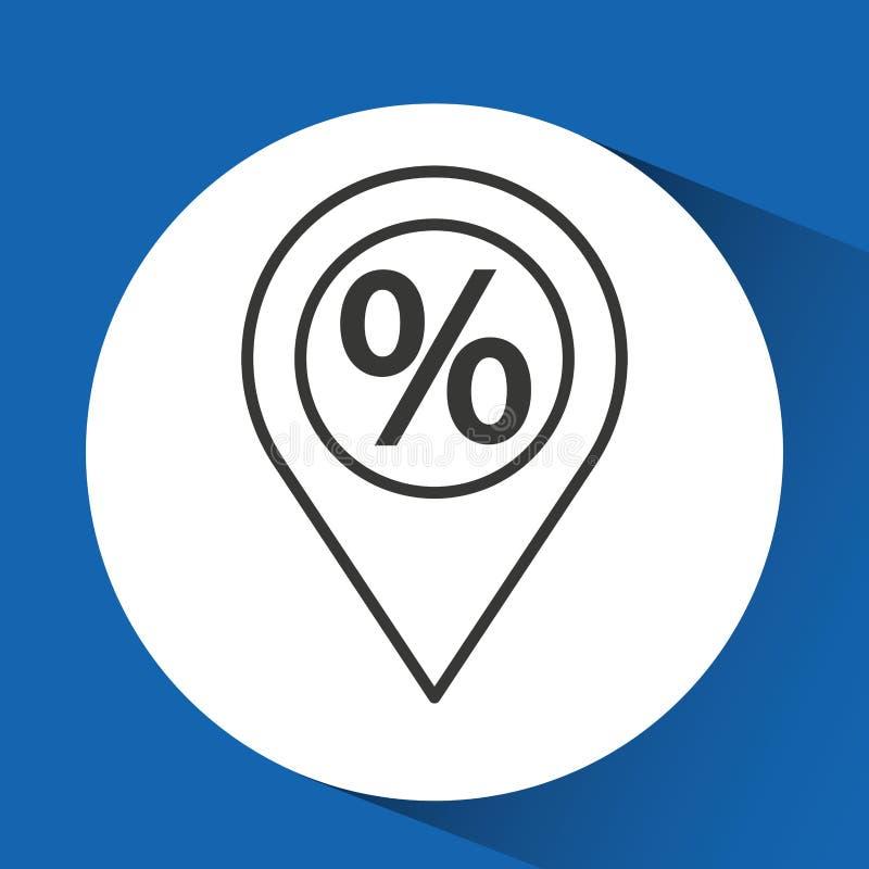 Οικονομικός γραφικός ηλεκτρονικού εμπορίου έννοιας διανυσματική απεικόνιση