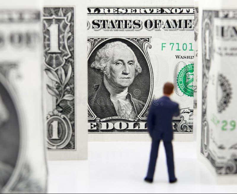 Οικονομικός λαβύρινθος στοκ φωτογραφίες