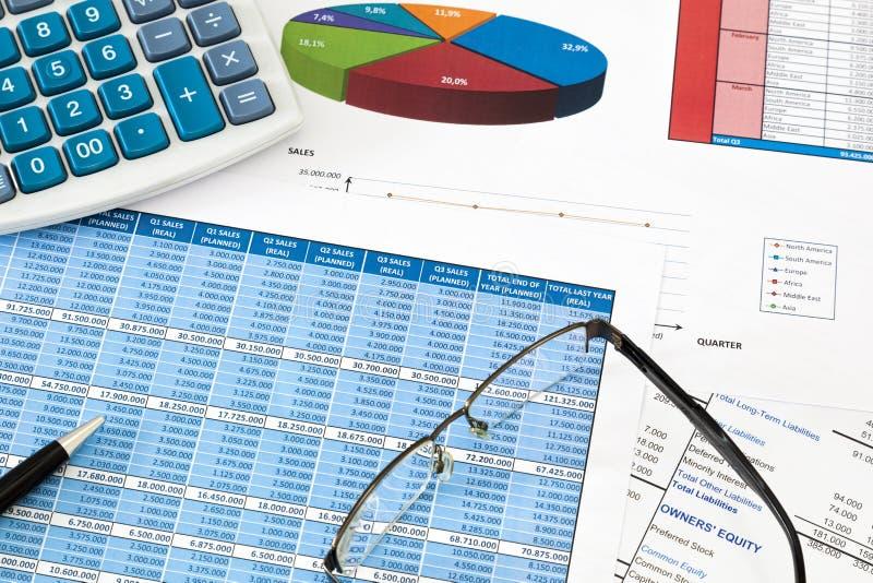 Οικονομικός λογιστικός έλεγχος στοκ φωτογραφία με δικαίωμα ελεύθερης χρήσης