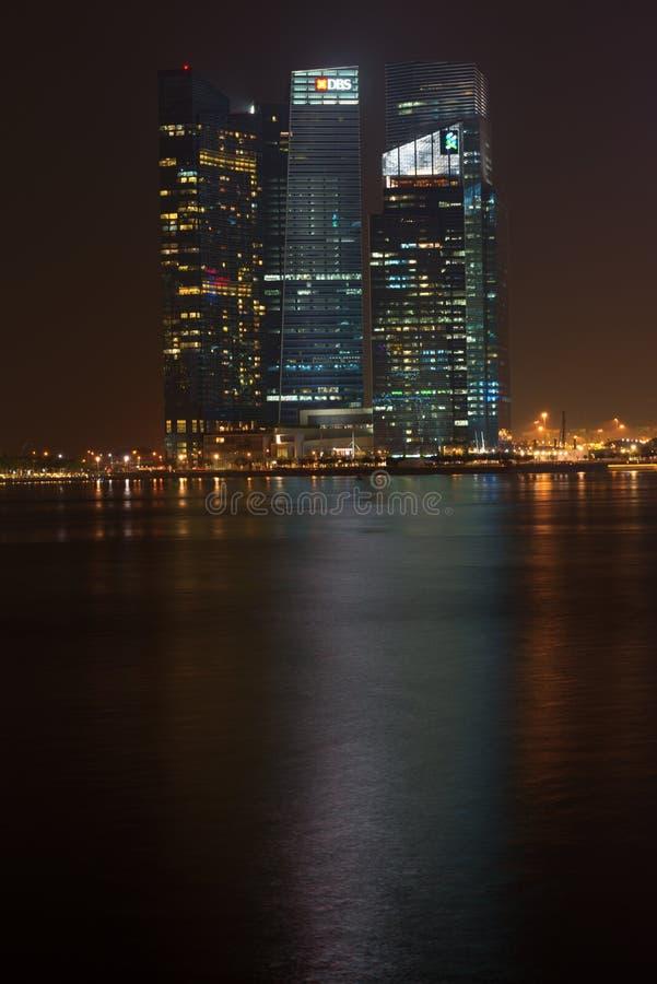 Οικονομικό κέντρο κόλπων μαρινών, Σιγκαπούρη στοκ φωτογραφία