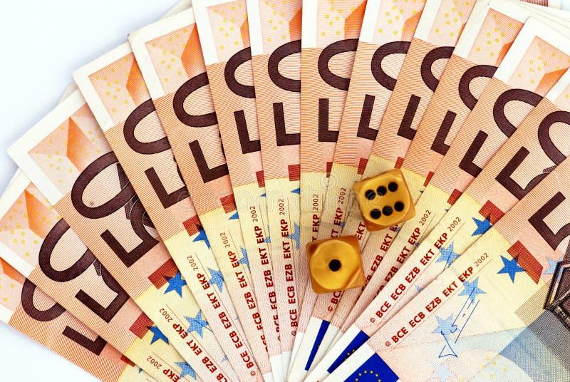 οικονομικό τυχερό παιχνί&delt στοκ φωτογραφία με δικαίωμα ελεύθερης χρήσης