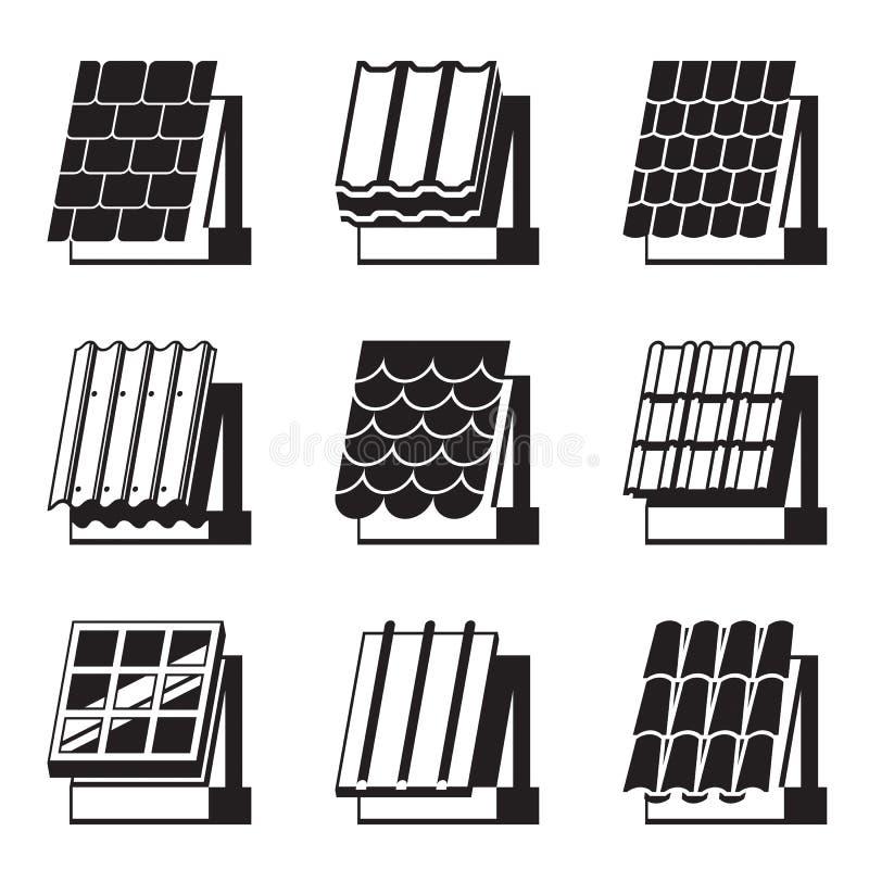 Οικοδομικά υλικά για τις στέγες απεικόνιση αποθεμάτων
