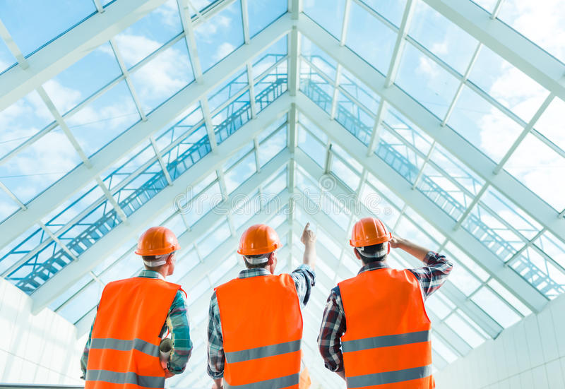 Οικοδομική Βιομηχανία στοκ φωτογραφίες με δικαίωμα ελεύθερης χρήσης