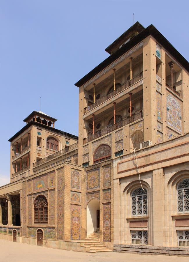Οικοδόμημα του ήλιου (υποκρίνεται ol Emareh) στο παλάτι Golestan (Ιράν) στοκ φωτογραφίες με δικαίωμα ελεύθερης χρήσης