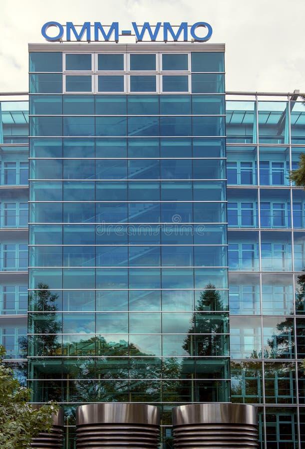 Οικοδόμηση της παγκόσμια μετεωρολογικά οργάνωσης & x28 WMO& x29  στοκ φωτογραφίες