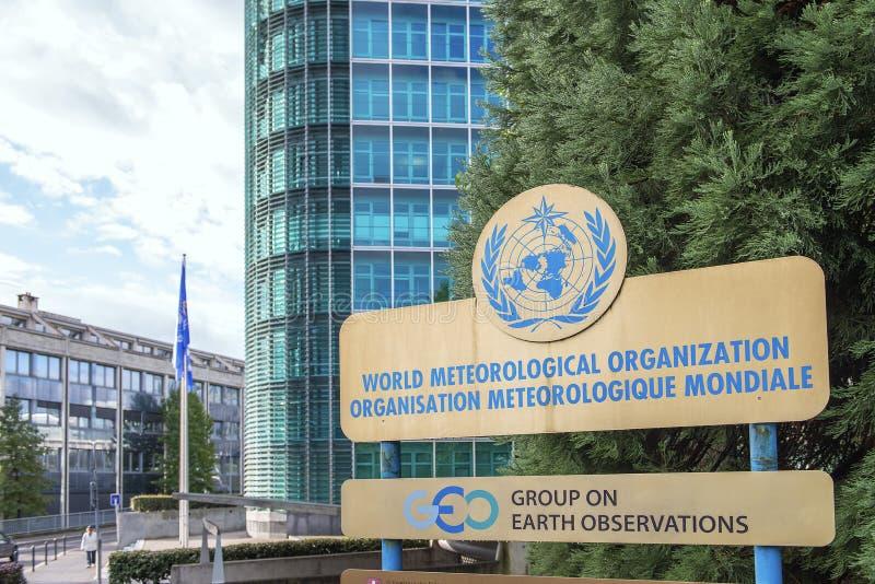 Οικοδόμηση της παγκόσμια μετεωρολογικά οργάνωσης & x28 WMO& x29  στοκ φωτογραφία με δικαίωμα ελεύθερης χρήσης