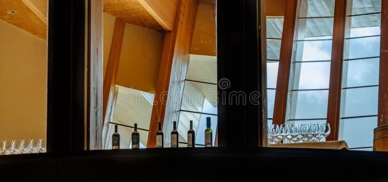 Οινοποιίες του Λα Rioja στην Ισπανία στοκ φωτογραφίες με δικαίωμα ελεύθερης χρήσης