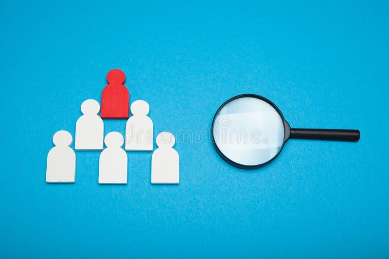 Οι άνθρωποι επιλέγουν το νικητή, ευκαιρία εργασίας Έννοια ομαδικής εργασίας επιτυχίας στοκ εικόνα