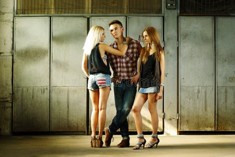 οι άνθρωποι μόδας εβλάστη& στοκ εικόνες με δικαίωμα ελεύθερης χρήσης