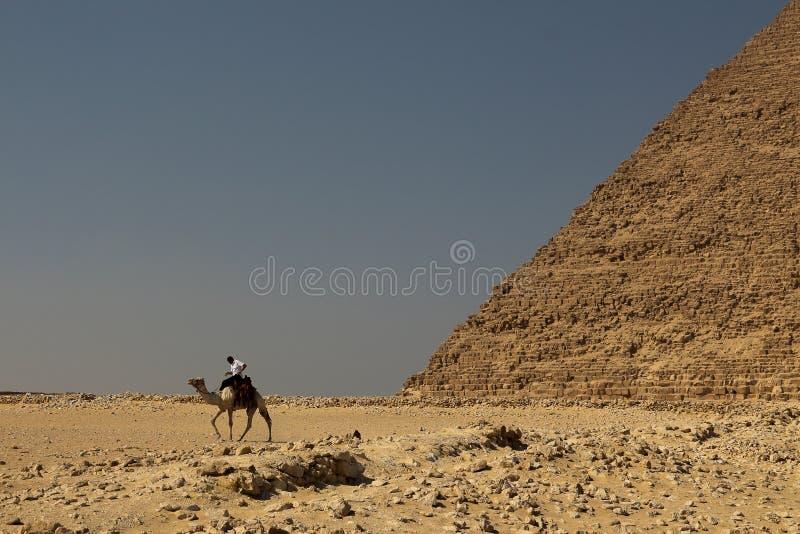 Οι άνθρωποι στην έρημο στοκ φωτογραφία