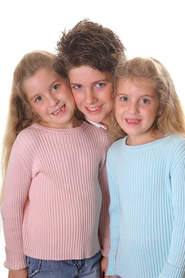 οι αδελφές αδελφών ζευ&g στοκ φωτογραφία με δικαίωμα ελεύθερης χρήσης