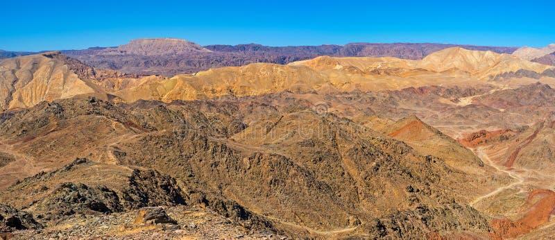 Οι αιχμές της ερήμου Negev στοκ εικόνα με δικαίωμα ελεύθερης χρήσης