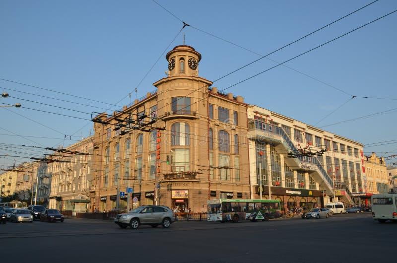 Οι απόψεις πόλεων Ροστόφ--φορούν, Ρωσία στοκ φωτογραφίες