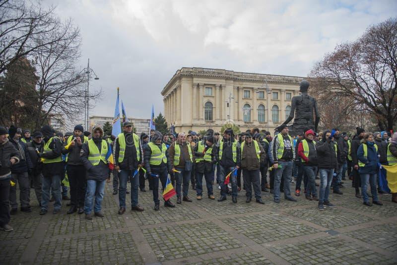 Οι αστυνομικοί διαμαρτύρονται στοκ φωτογραφία με δικαίωμα ελεύθερης χρήσης