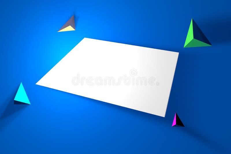 Οι αφηρημένες γραμμές σύστασης υποβάθρου αφαιρούν υποβάθρων το αφηρημένο ζωγραφικής υποβάθρου γεωμετρικό blu υποβάθρου υποβάθρων  διανυσματική απεικόνιση