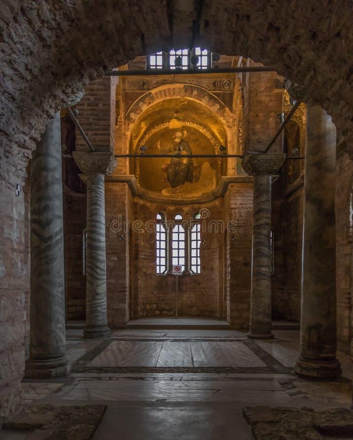 Οι βυζαντινές εκκλησίες της Ιστανμπούλ Τουρκία στοκ εικόνα με δικαίωμα ελεύθερης χρήσης