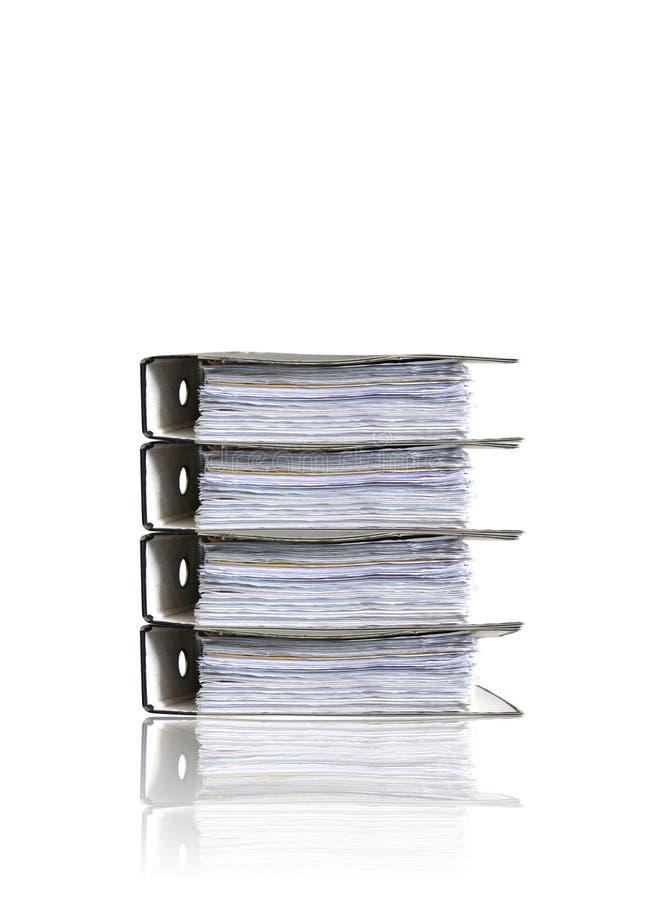 οι γραμματοθήκες συσσωρεύουν το λευκό στοκ εικόνα με δικαίωμα ελεύθερης χρήσης