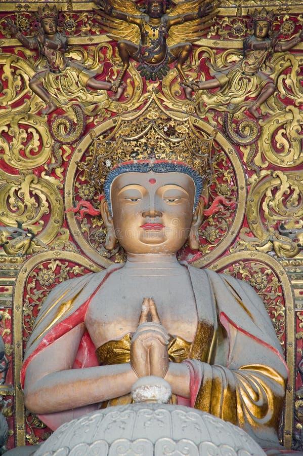 Οι γλυπτικές του Βούδα στοκ εικόνες