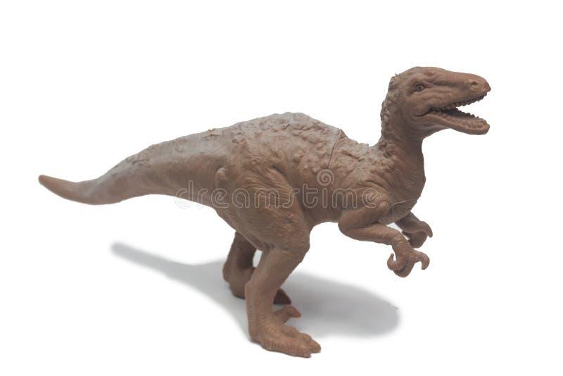 Οι δεινόσαυροι παιχνιδιών αποτελούνται από το πλαστικό στοκ εικόνα με δικαίωμα ελεύθερης χρήσης