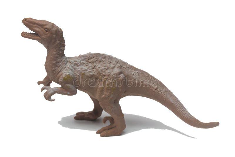 Οι δεινόσαυροι παιχνιδιών αποτελούνται από το πλαστικό στοκ εικόνες με δικαίωμα ελεύθερης χρήσης