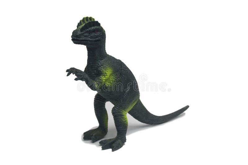 Οι δεινόσαυροι παιχνιδιών αποτελούνται από το πλαστικό στοκ φωτογραφία