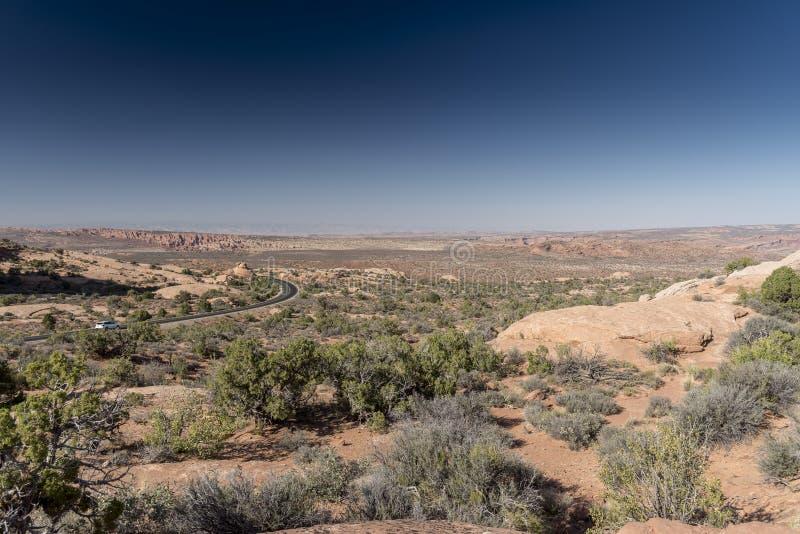 Οι διάβολοι καλλιεργούν, εθνικό πάρκο Moab Γιούτα αψίδων στοκ φωτογραφίες