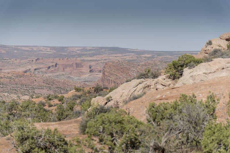Οι διάβολοι καλλιεργούν, εθνικό πάρκο Moab Γιούτα αψίδων στοκ φωτογραφία