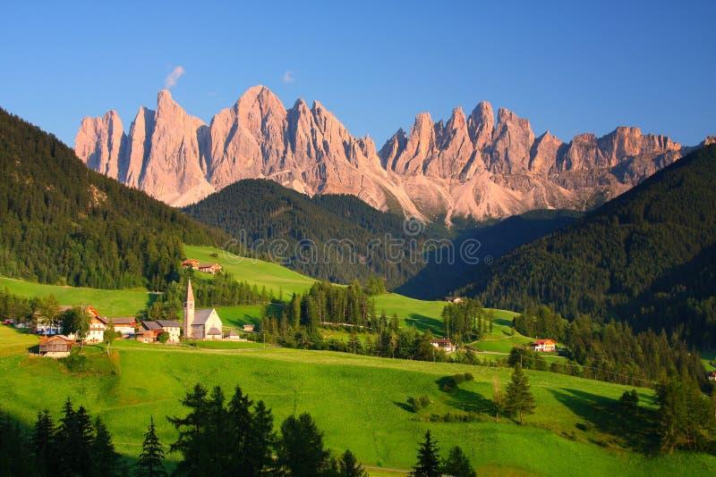 Οι δολομίτες στη βόρεια Ιταλία στοκ εικόνες με δικαίωμα ελεύθερης χρήσης