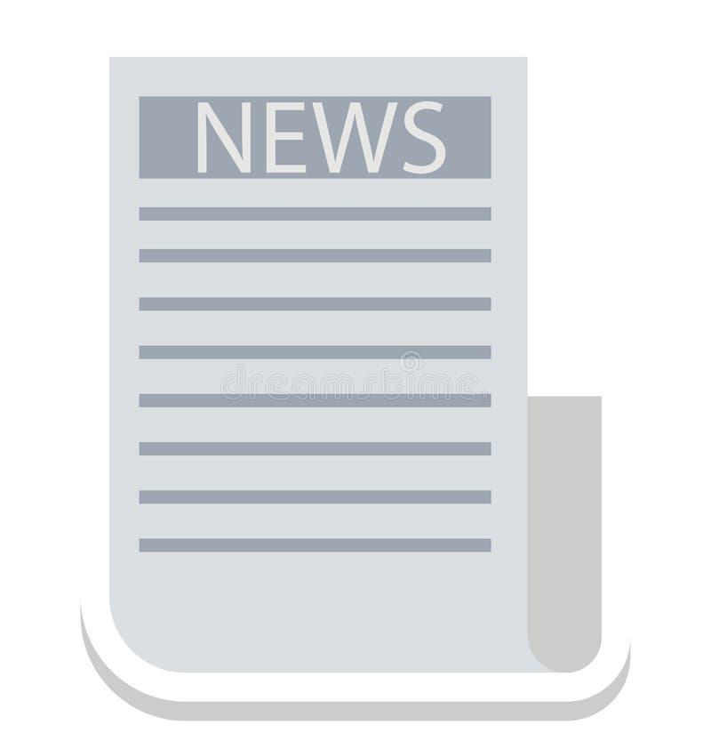 Οι ειδήσεις, περιοδικό τα απομονωμένα που διανυσματικά εικονίδια μπορούν να είναι τροποποιούν με οποιοδήποτε ύφος απεικόνιση αποθεμάτων