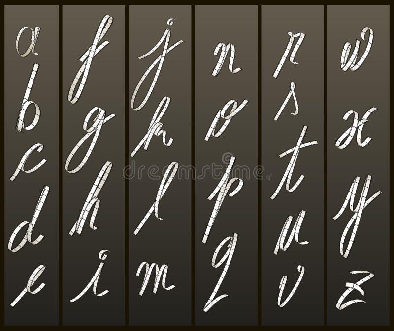 οι επιστολές ταινιών περί&pi διανυσματική απεικόνιση