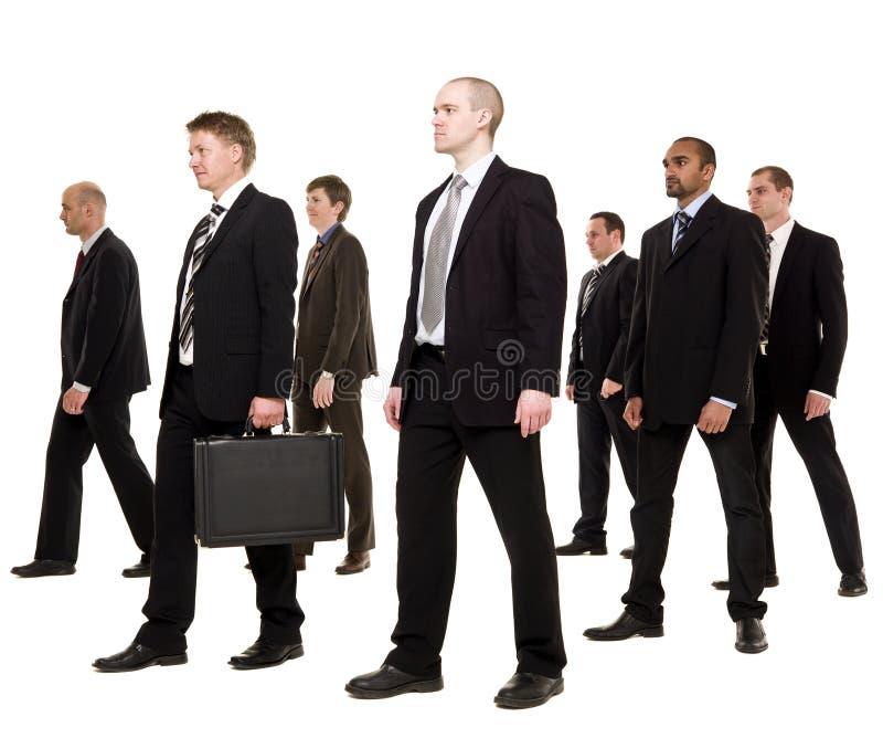 οι επιχειρηματίες ομαδ&om στοκ φωτογραφίες